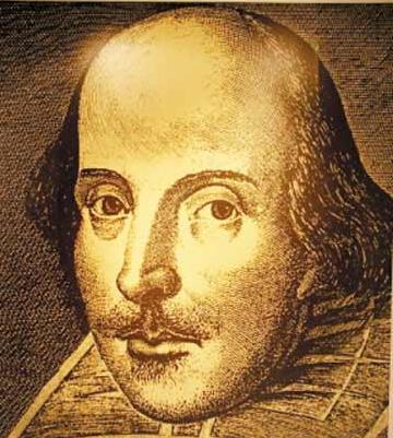 莎士比亚的照片